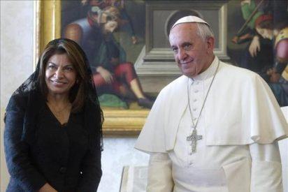 Francisco ha recibido en privado a la presidenta de Costa Rica