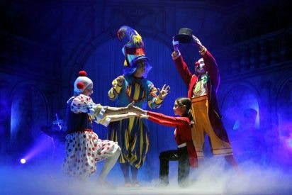 Primer espectáculo circense en el Vaticano