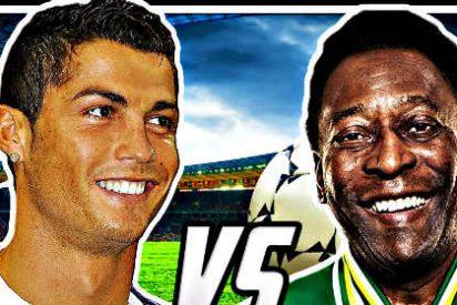 El objetivo de Cristiano Ronaldo ya no es leo Messi, ahora se llama Pelé