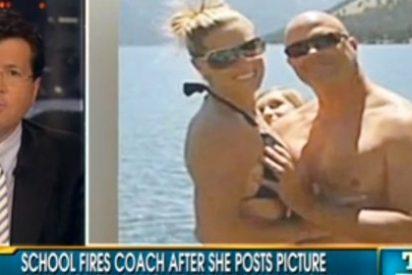 Despiden a la entrenadora por una foto 'obscena'