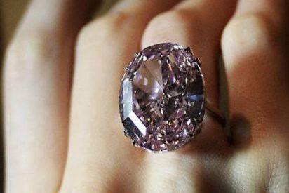 [Vídeo] El diamante rosa de 59 quilates que cuesta 60 millones de euros ya tiene dueño