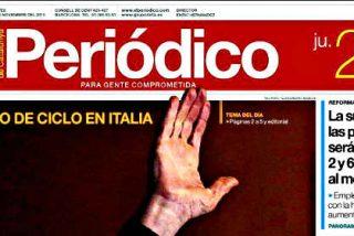 'El Periódico de Catalunya' se lleva otros 710.000 euros más de la Generalidad