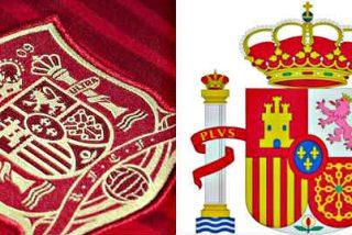El escudo de España en la camiseta de la selección de fútbol tiene graves errores