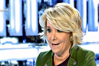 """Esperanza Aguirre: """"Si a Telemadrid le pasa como a Canal 9 tendrá que cerrar"""""""
