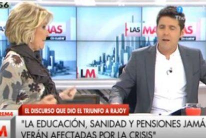 """Esperanza Aguirre le da lo suyo a Jesús Cintora: """"¿Me deja contestar o va a seguir como hasta ahora?"""""""