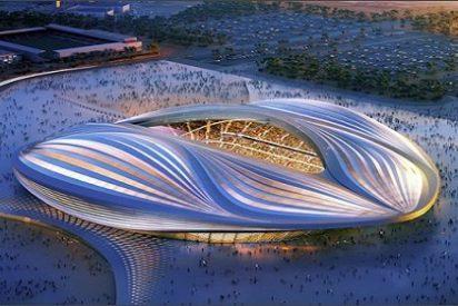 Polémica en Qatar por el estadio en forma de vagina
