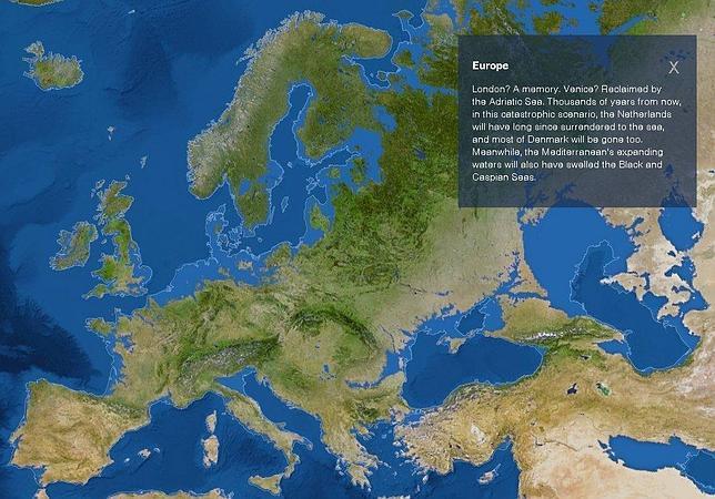 Dentro de 5.000 años todos calvos y a Barcelona se la habrá tragado el mar