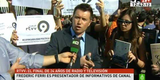 """""""El PP ha montado en Canal 9 una red corrupta que ha comprado a todo Dios, incluyendo a mucha gente que ahora está arrepentida"""""""
