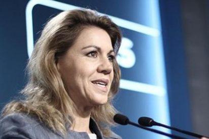"""Cospedal no ve """"ningún proyecto político"""" en el PSOE"""
