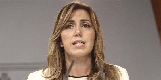 Susana Díaz, la nueva estrella socialista, se descarta para las primarias