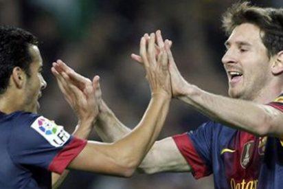 """Pedro resta importancia a la sequía de Messi y asegura que """"no le pasa nada"""""""