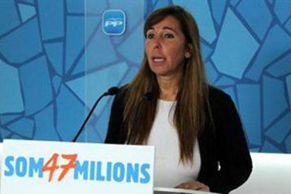 El PP acusa a CiU de regresar al tripartito por pactar los presupuestos con ERC