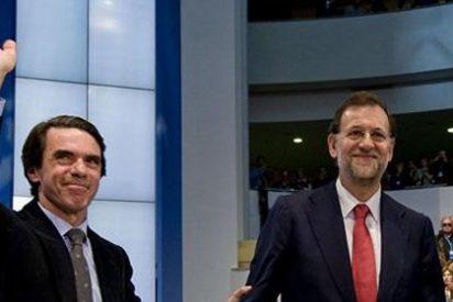"""La cúpula del PP niega que haya una """"ruptura"""" entre Aznar y Rajoy"""