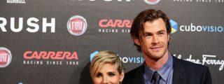 Elsa Pataky y Cris Hemsworth 'rompen aguas' en el rodaje al encallar su catamarán