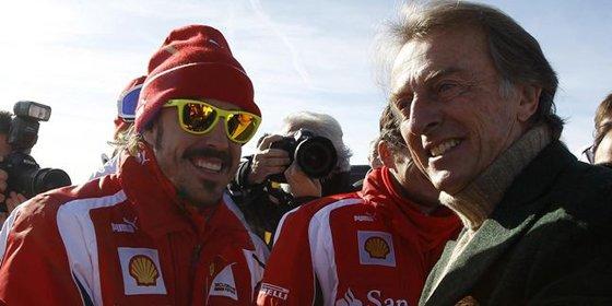 "Montezemolo mima a Alonso: ""Me gustaría regalarle un coche mejor que Red Bull"""