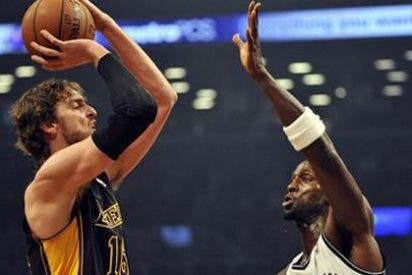 Gasol se convierte en el segundo máximo anotador europeo en la historia de la NBA