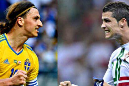 ¿Vas con el Portugal de Cristiano Ronaldo o con la Suecia de Zlatan Ibrahimovic?