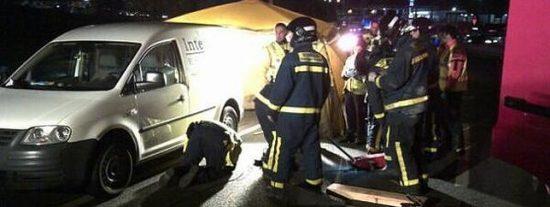 Atropella a un drogadicto en Cañada Real y arrastra su cadáver 2 kilómetros