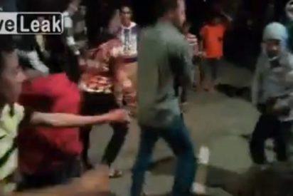 [Vídeo] Mata a tres personas mientras bailaba en una boda el 'Gangnam Style'
