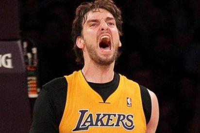 Tercera victoria consecutiva de los Lakers de Pau