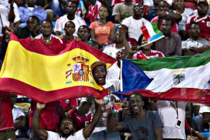España gana sin despeinarse a Guinea Ecuatorial el partido de las primas y las patadas