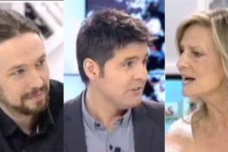 """Cintora e Iglesias se mofan de Isabel San Sebastián: """"Eres la faraona, cuando hablas hay que tomar apuntes"""""""