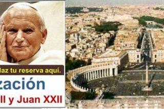¿Quieres acudir a la canonización de Juan Pablo II Y Juan XXIII?