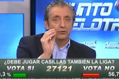 """Josep Pedrerol sacude a Roncero, Hermel, Duro y Damián: ¡Cómo estais machacando a Diego López para colocar a Iker Casillas!"""""""