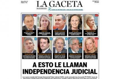 A esto le llaman independencia judicial: la justicia más politizada de toda la democracia