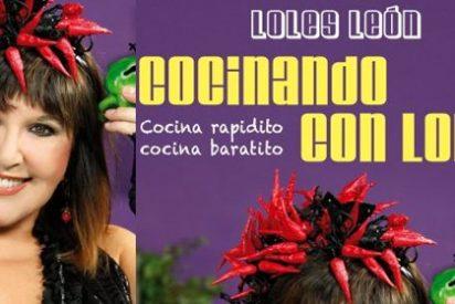 Loles León saca su libro con recetas para cocinar 'rapidito, baratito y con humor'