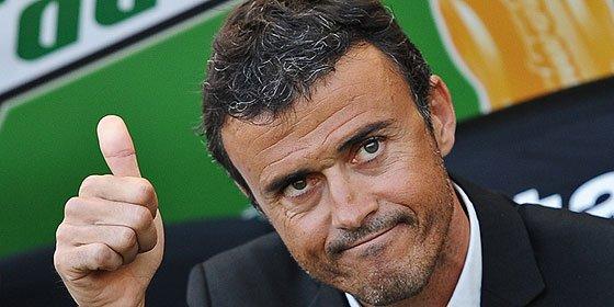Luis Enrique quiere un delantero