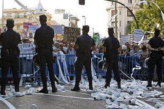 Hasta 30.000 euros de golpe y porrazo por insultar a policías en las manifestaciones