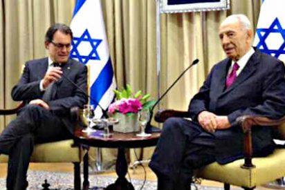 Artur Mas: Dos banderas de Israel para no poner la de España