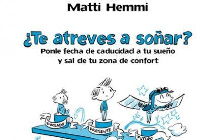 """Matti Hemmi: """"Ponle fecha de caducidad a tu sueño y sal de tu zona de confort"""""""