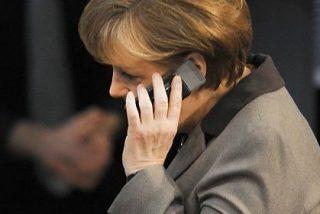 A Merkel le crecen los enanos en su móvil: China, Rusia, Reino Unido y Corea también pusieron la oreja