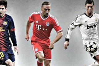 Los paniaguados de la FIFA ningunean a Cristiano y piropean a Messi y Ribéry