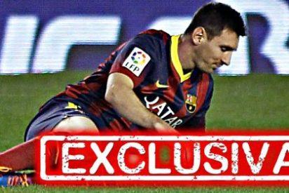 El lesionado Leo Messi estará de baja entre seis y ocho semanas por lo menos