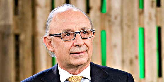 """Cristobal Montoro: """"España necesita que vuelva a ganar el PP"""""""