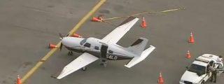 [Vídeo] Se abre la puerta de una avioneta en pleno vuelo y se cae un pasajero