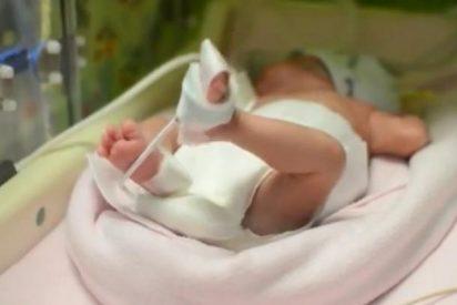 [Vídeo] ¡Milagro! Da a luz tres meses después de que le declaren muerte cerebral
