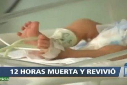 Una bebé resucita en la morgue después de que en el hospital la dieran por muerta