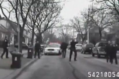 [Vídeo] La dramática muerte a tiros de un enfermo mental a manos de la Policía