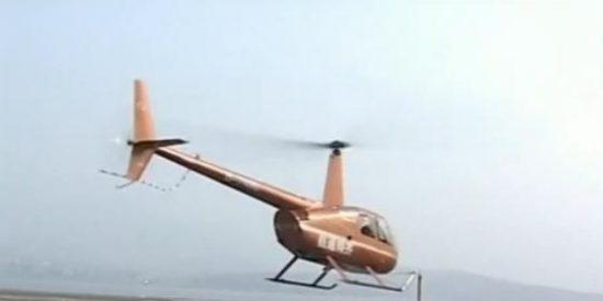 [Vídeo] El piloto chino consigue abrir la botella de cerveza con su helicóptero