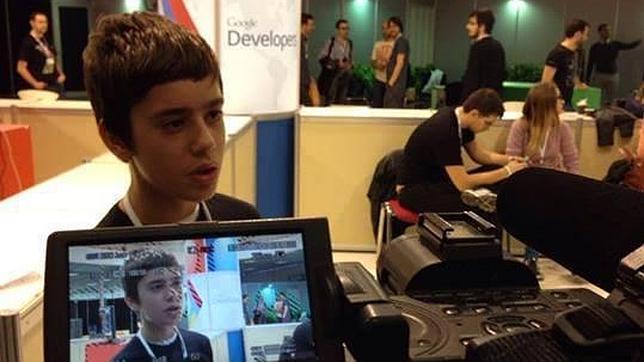 Google ficha a un brillante niño de 12 años para su equipo de programadores