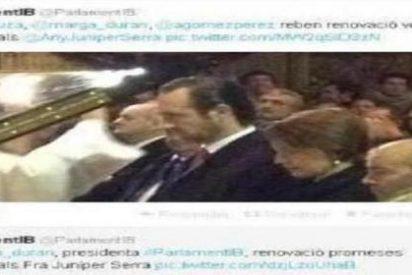 ¿Quién es el paniaguado/a que subió al Twitter del Parlament la renovación de votos bautismales de Bauzá?