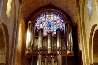 Concierto de órgano en el monasterio de Poblet