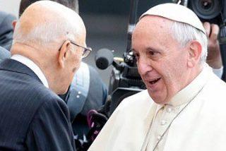 """Francisco, a Napolitano: """"Hay que multiplicar los esfuerzos frente a la crisis"""""""