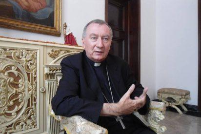 Parolin ya está en el Vaticano