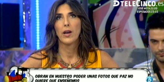 """Paz Padilla expulsa a una invitada de 'Sálvame': """"Abandone el plató. ¡Dice cosas muy graves!"""""""