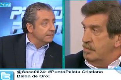 """Pedrerol a Iñaki Cano: """"Si lo hace Del Bosque, perfecto. Si es Mourinho, hablas de robo"""""""